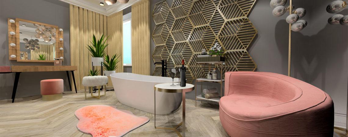 Holló Annamária lakberendező referencia - háló 3D - Kifinomult luxus