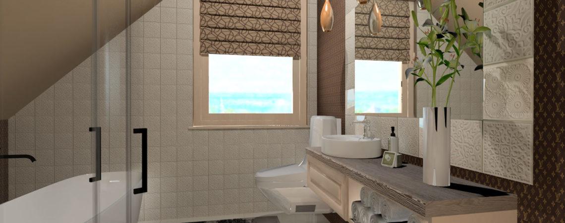 Fürdőszoba berendezése