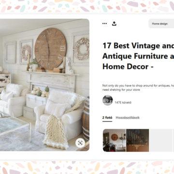 5 dolog, amiben nagy segítségedre lehet a Pinterest lakberendezés!